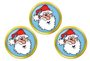 Pere-Noel-Santa-Pere-Noel-Marqueurs-de-Balles-de-Golf