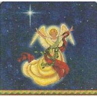 8 Absorbent Drink Coasters Christmas Spirit Designs - North Star Angel