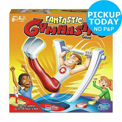 Fantastic Gymnastics Game Hasbro Gaming 8+ Years 1+ Players
