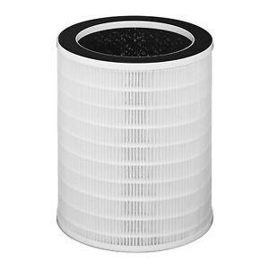 Luftreiniger Vorfilter HEPA Filter Aktivkohlefilter Filterkartusche 3-Stufen