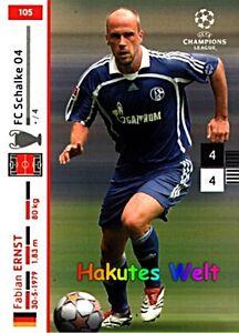 PANINI-Champions-League-2007-2008-07-08-Fabian-Ernst-Nr-105-FC-Schalke-04