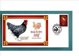 2017-YEAR-OF-THE-ROOSTER-SOUVENIR-COVER-ANDULUSIAN-ROOSTER