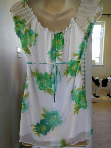 verde Set New due Capris maternità in Usa Large vestito pezzi Floreale Made 5wpqxpn1