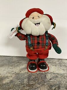 Animated Hunter SANTA CLAUS Make Me Want to Shout Merry Christmas   eBay