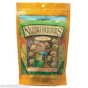 Lafeber Nutriberries Jardín Verduras 284G - Completo Loro Alimento/Definitiva