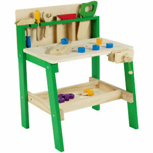 Kinder Werkbank Holz 20tlg. Kinderwerkbank mit viel ...
