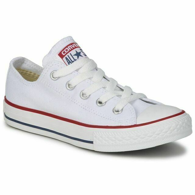 Aplicando África En marcha  Converse All Star M7652C Unisex Low Top Trainers UK 6 EUR 39 - Optical  White for sale online | eBay