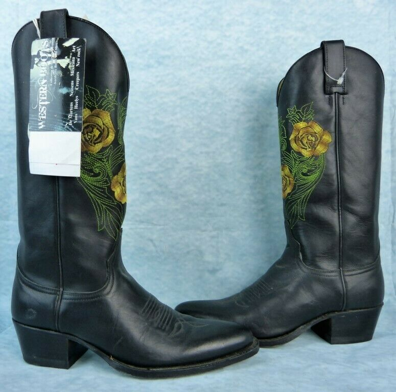 SENDRA botas Pointure 36 36 36 Fr   4 UK   6 USA - Fleurs  buen precio