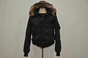 2f686c9a Details about Polo Ralph Lauren Faux Fur Hooded Down & Feather Filled Puffy  Bomber Jacket