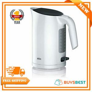 Braun PurEase Serie 3 Electric Jug Kettles Plastic 3000 W 1.7 litres WK3110WH