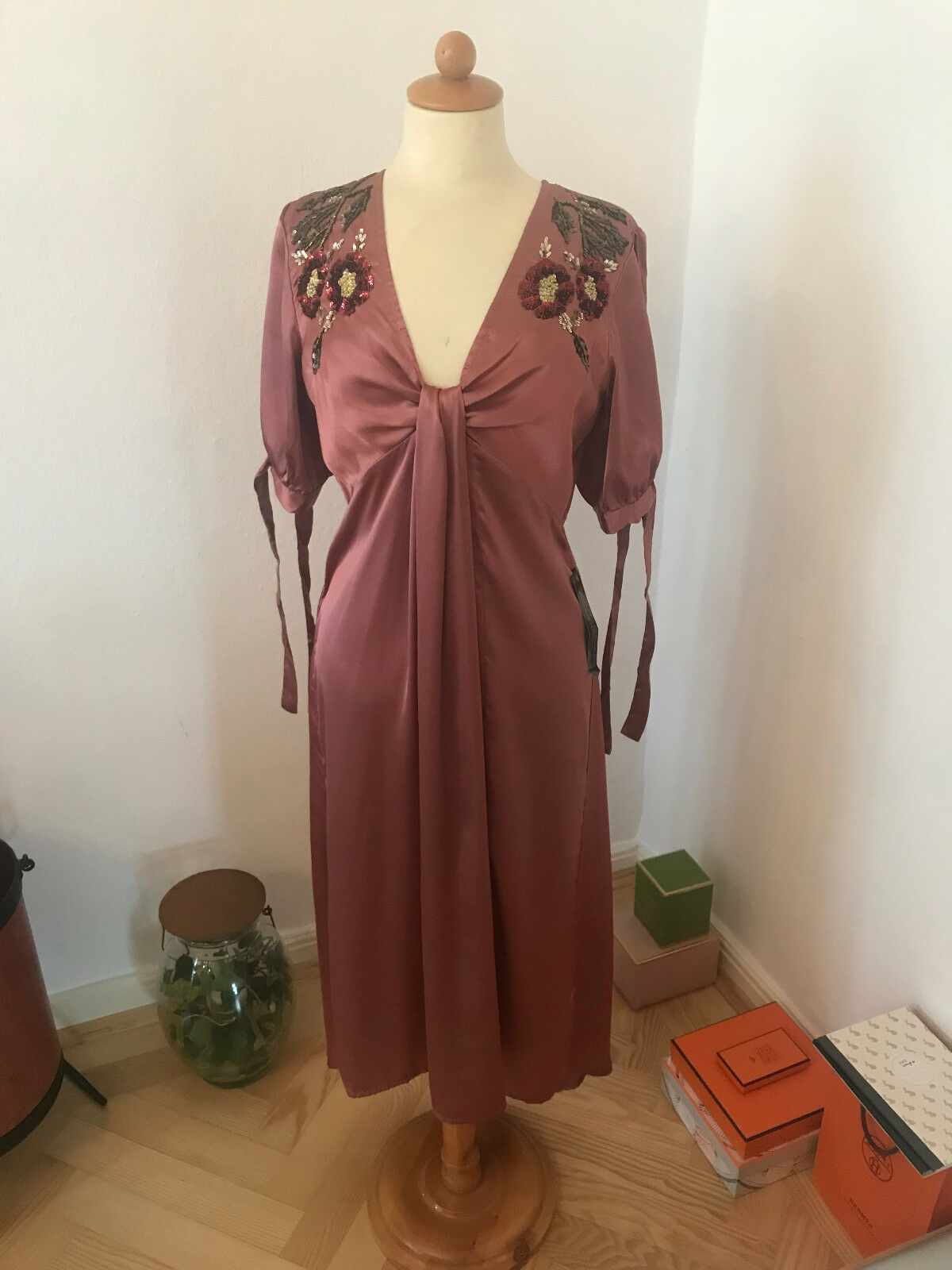TOPSHOP Dress, Embroidery NEW, 38, Blogger, SOLD OUT