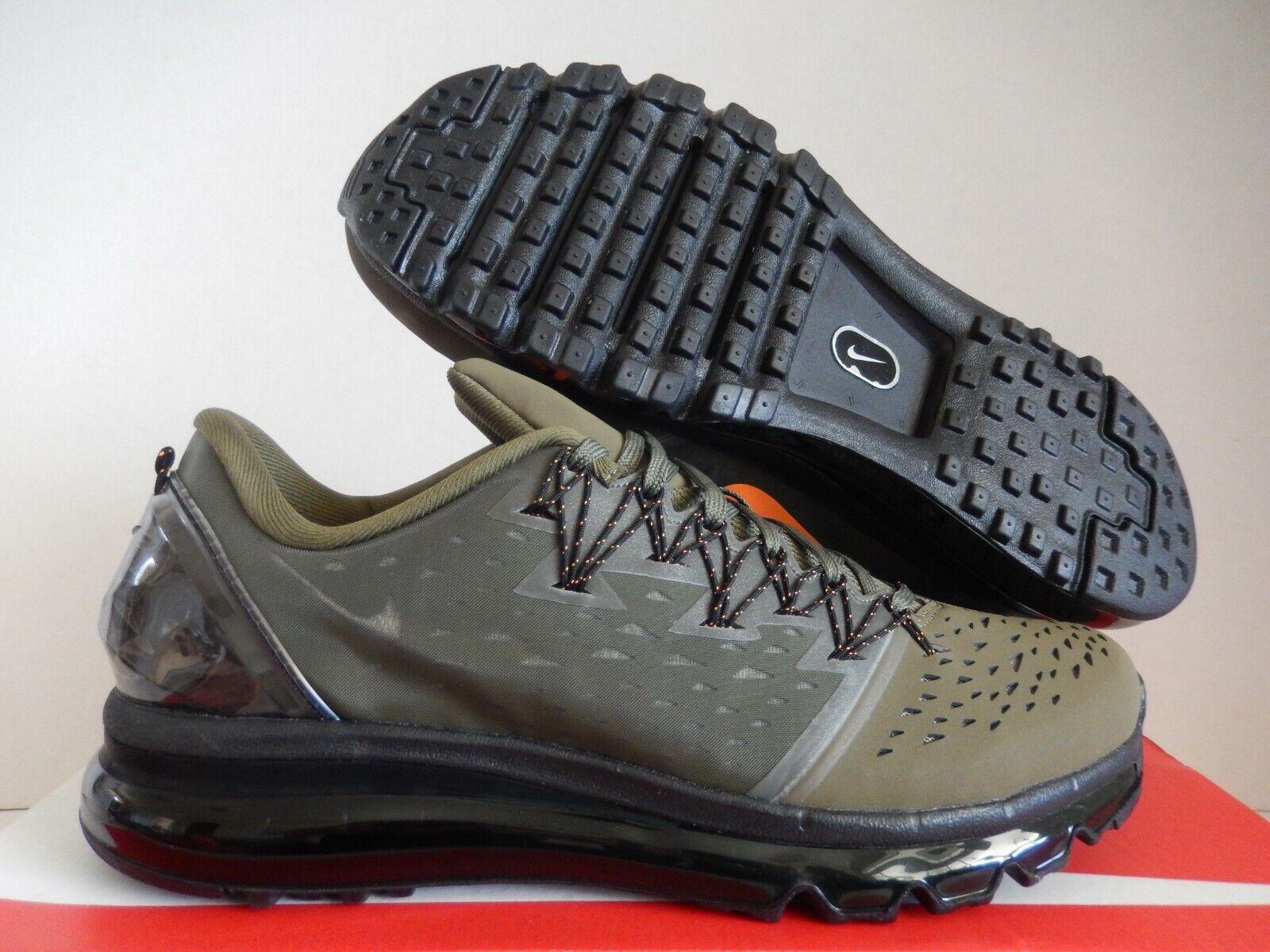 Nike Air Max 90 Prem Dark Grey Olive Green Mens Trainers