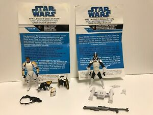 star-wars-legacy-collection-ARC-Trooper-amp-Clone-Scuba-Trooper-Lot
