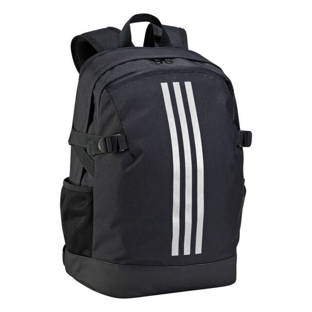 baf506e77 adidas Bag Training 3-stripes Power Backpack Medium Gym School Black BR5864
