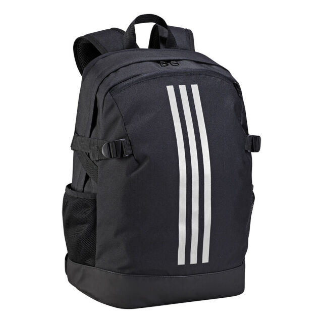 2bf4b4a5c2 adidas Bag Training 3-stripes Power Backpack Medium Gym School Black BR5864
