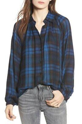 Angie Shirt Plaid Flannel Long Sleeve