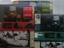 SEALED NEW / LOT OF 3 BOX SET / FELA KUTI KING OF AFRO BEAT  SEILL SEALED BUT HA