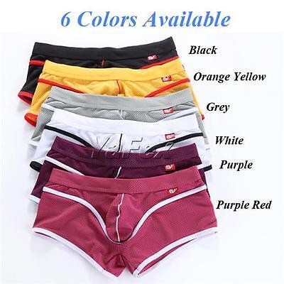 sexy Herren Boxershorts Shorts unterwäsche pants Boxer Push-up Cozy Gr S M L XL