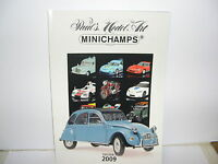 Minichamps 2009 Edition 1 Catalogue 227 Pages