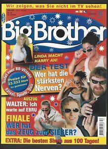 Big Brother Magazin 2 Staffel Mit Hanka Rackwitz Ebay