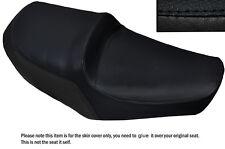 BLACK STITCH CUSTOM FITS YAMAHA XS 650 SE DUAL LEATHER SEAT COVER