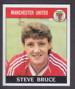 Panini - Football 89 - # 130 Steve Bruce - Manchester United