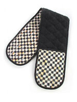 Mackenzie Childs Courtly Check Double Pot Holder $65