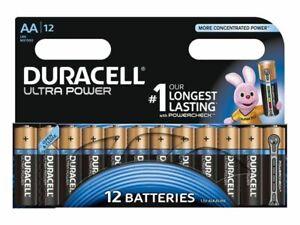 12x Mignon AA LR6 Batterie Duracell Ultra Power Battery 12 Stück mit Powercheck