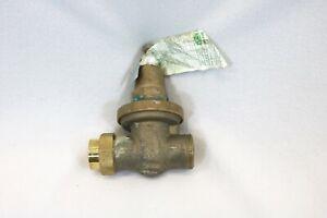 Brass Water Pressure-Reducing Double-Union FNPT Valve 70XLDU Zurn 1 in