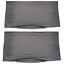 Indexbild 9 - 2 Stück Kopfkissenbezug Kissenbezug Kissenhülle Baumwolle Reißverschluss 40x80cm