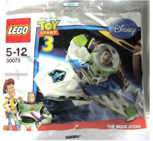 LEGO TOY STORY - BUZZ LIGHTYEAR'S MINI SHIP POLYBAG FIGURE + FREE GIFT - SEALED