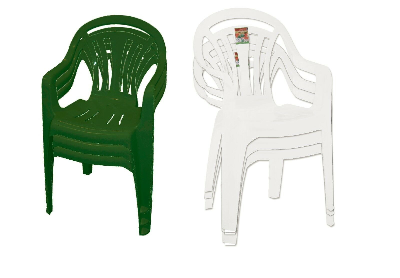 Plastic Stacking Chairs Patio Garden Outdoor Home Picnic Party Stackable Chair  sc 1 st  eBay & Plastic Stacking Chairs Patio Garden Outdoor Home Picnic Party ...