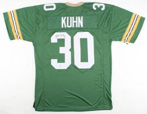 Details about John Kuhn Signed Green Bay Packers Jersey (Beckett COA) 2×Super Bowl Champ