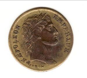 Rare Jeton Du Couronnements De Napoleon En 1804