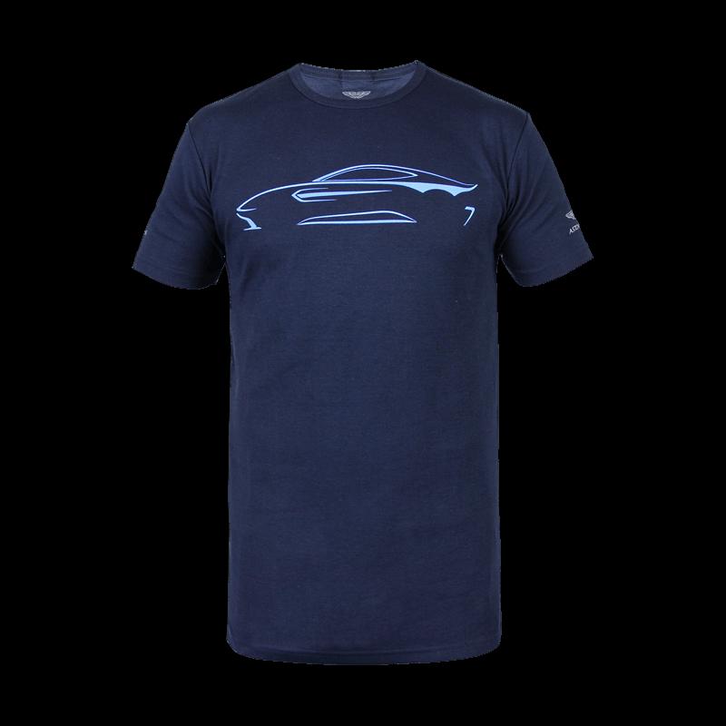 Aston Martin Vantage T-Shirt Navy Größe L