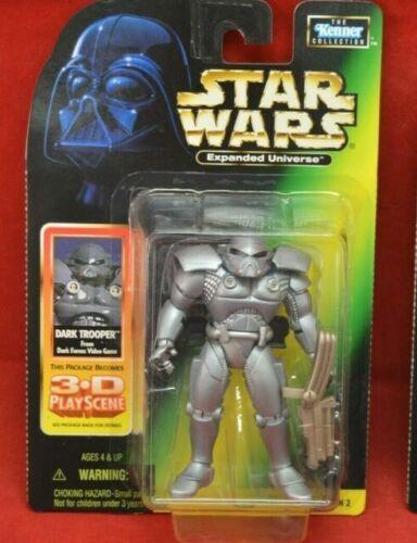 STAR Wars POTF espanso universo DARK TROOPER ACTION FIGURE