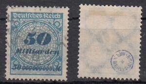 Deutsches Reich, N. 330 AP, timbrato, esaminati inaspri