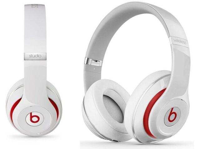 Beats by Dr. Dre Beats Studio 2.0 Over-Ear-Kopfhörer, Weiß (3,5-mm-Audioanschlus