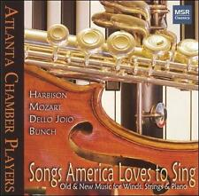 Songs America Loves To Sing - Old and New Music for Winds, Strings and Piano 200