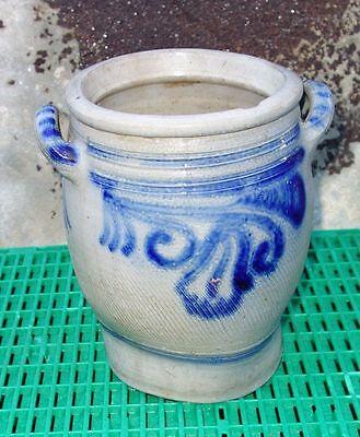 Vasen, Töpfe & Dosen 2009/02 Hoher Standard In QualitäT Und Hygiene Alter Schmalztopf Steintopf Salzglaur Auch Übertopf Nr