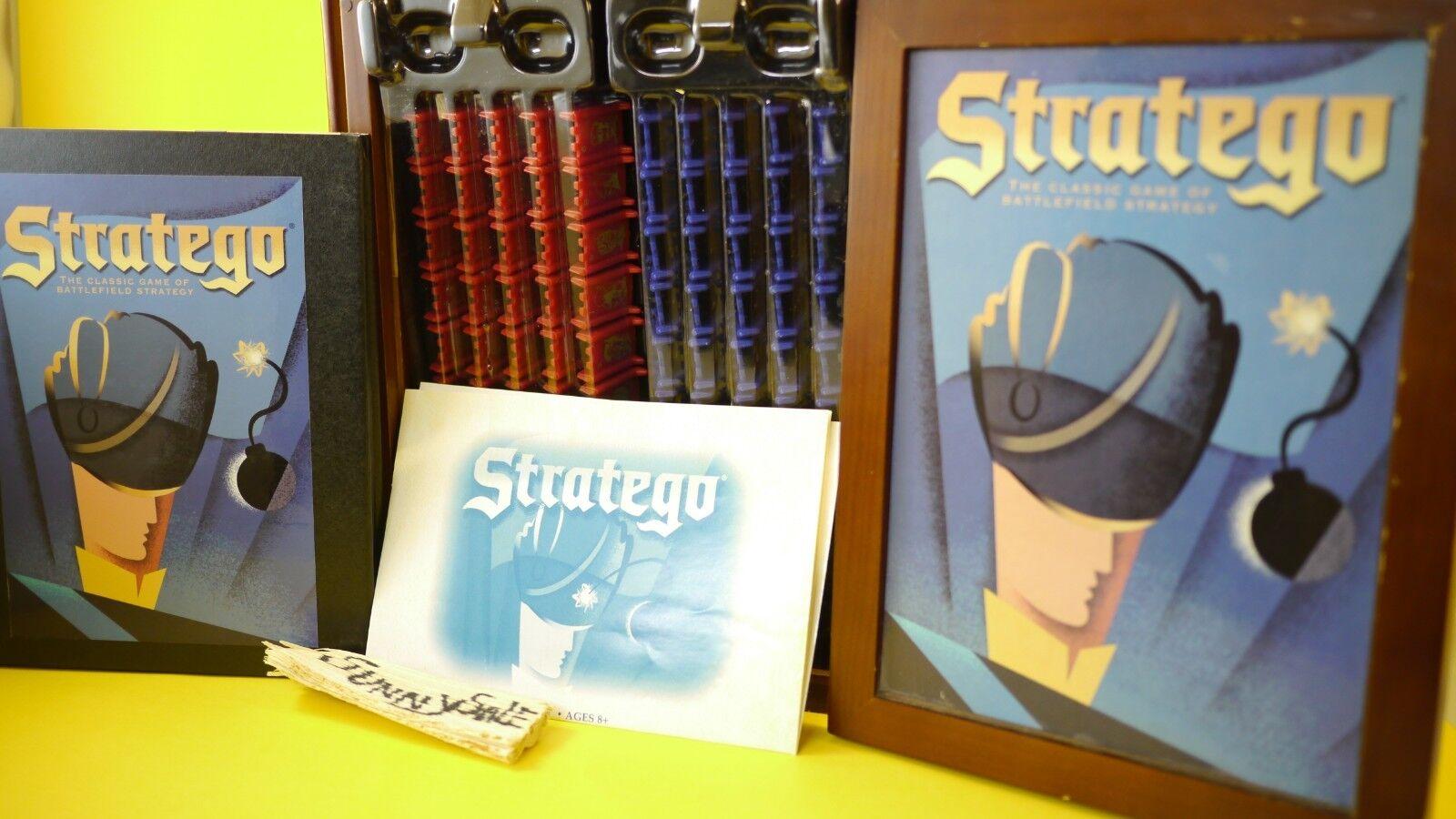 Stratego buch regal ausgabe vintage collection strategie brettspiel holz - ziel
