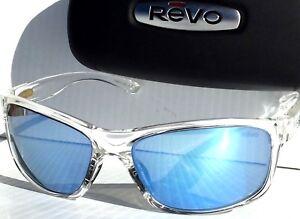 8e1efbd19d NEW  REVO HARNESS CLEAR w POLARIZED BLUE WATER Lens Sunglass RE 4071 ...