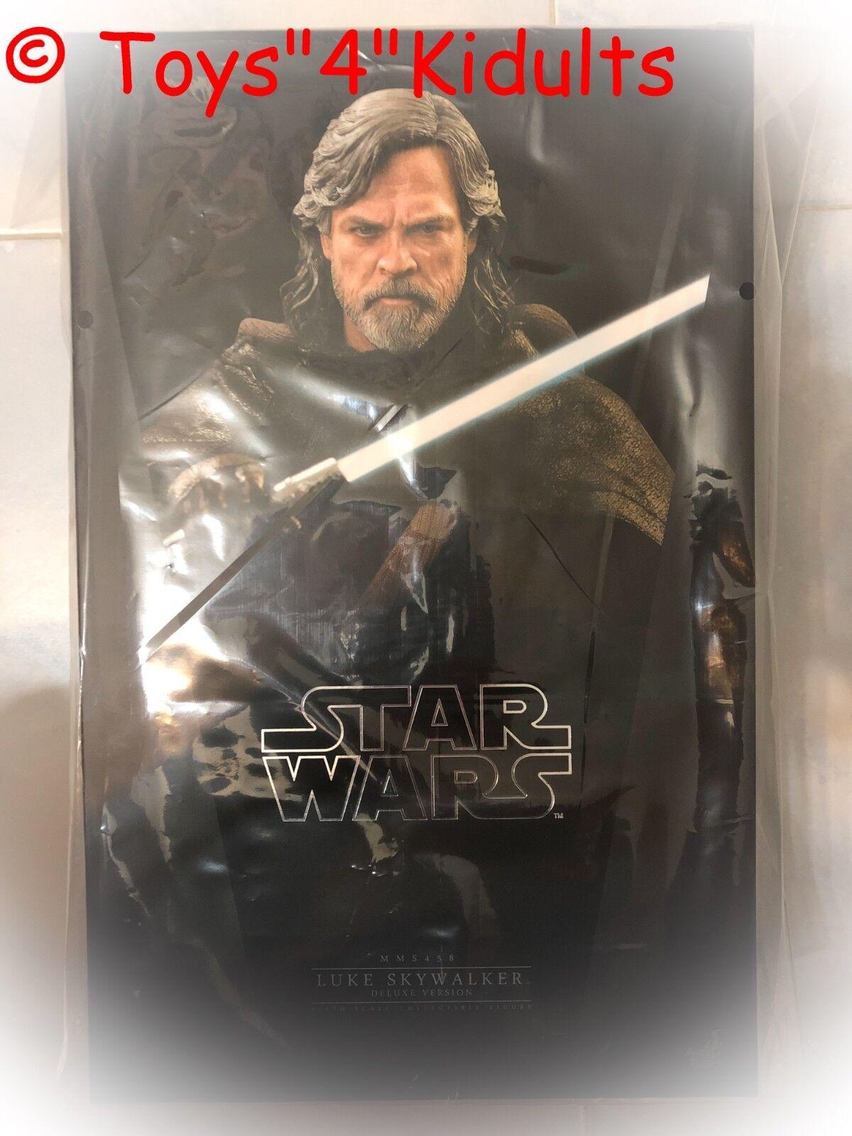Hot Toys MMS 458 Star Wars le dernier Jedi Luke Skywalker de Mark Hamill (Deluxe Version)