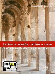 latino a scuola/quad. verifica tantucci 9788848202626
