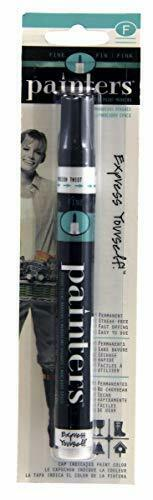 Pack of 1 Elmer/'s Painters Opaque Paint Marker Fine Tip Black