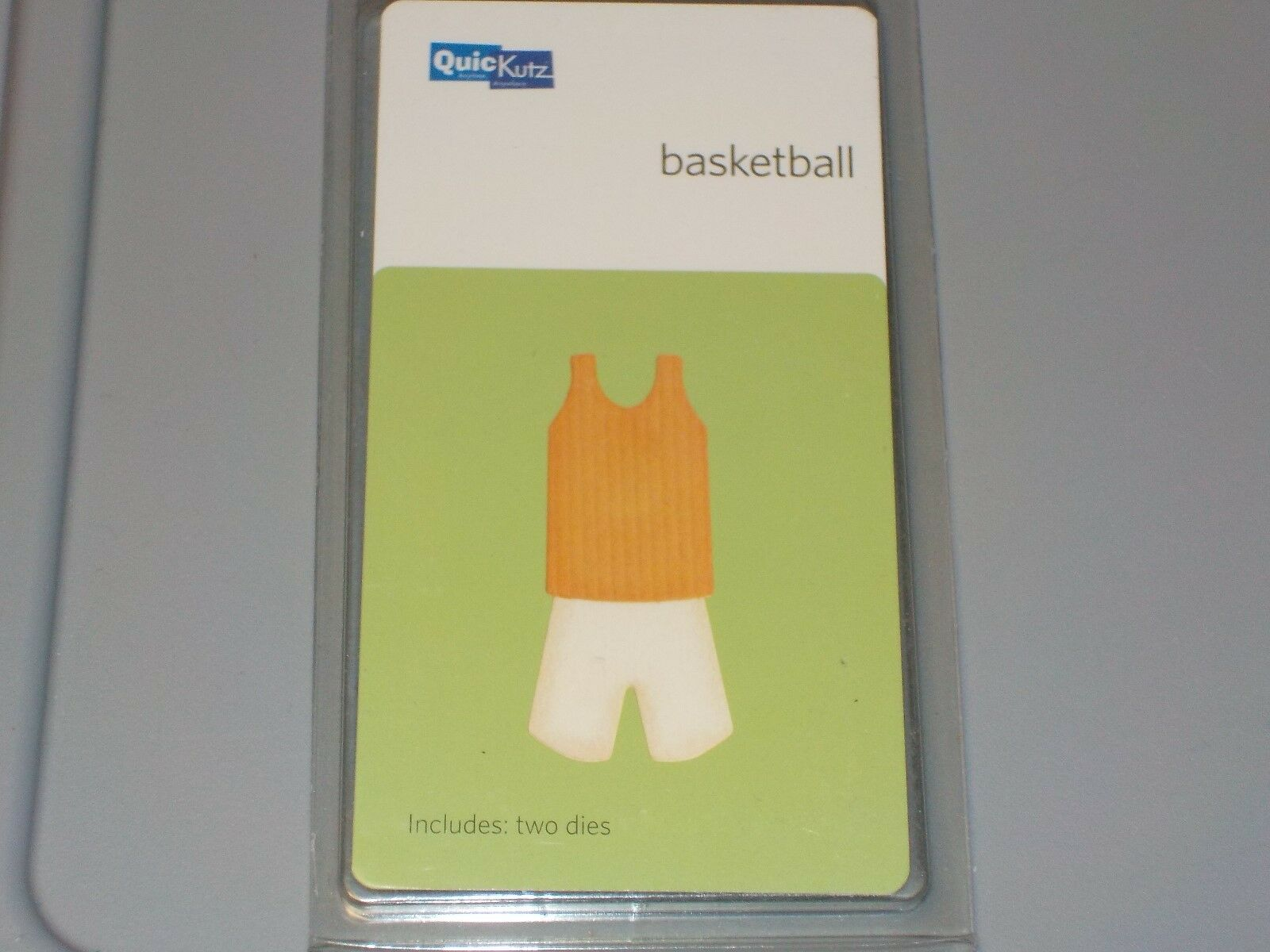 "Quickutz//Lifestyle Crafts KS-0463 Double Die /""Basketbal"