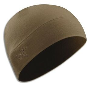 36c7efb5befbe4 Genuine Arc'Teryx Leaf RHO LTW Beanie Crocodile (Coyote Tan) UK ...