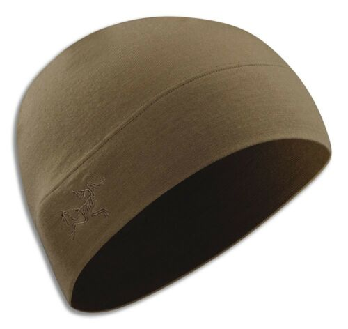 UK Venditore Genuine Arc /'TERYX LEAF Rho Ltw Beanie Coccodrillo Coyote Tan