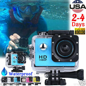 1080P HD DV Bike Motorcycle Sports Recorder Waterproof Action Camera Camcorder