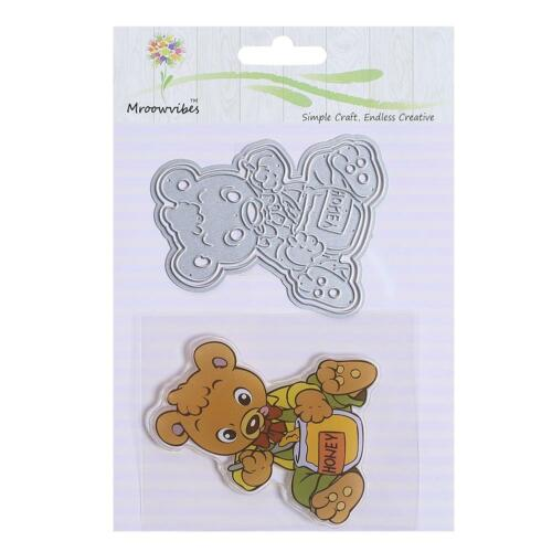 Cartoon Animals Metal Cutting Dies Scrapbooking Paper Card Stamp Embossing Craft